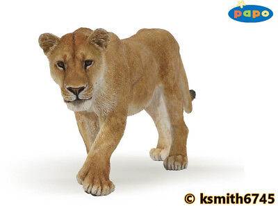 £7.05 • Buy Papo LIONESS Solid Plastic Toy Wild Zoo African Animal Cat Predator Lion NEW 💥