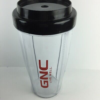 $19.95 • Buy GNC On The Go Blender Deluxe 28oz Cup Straw Lid BPA Free HG32