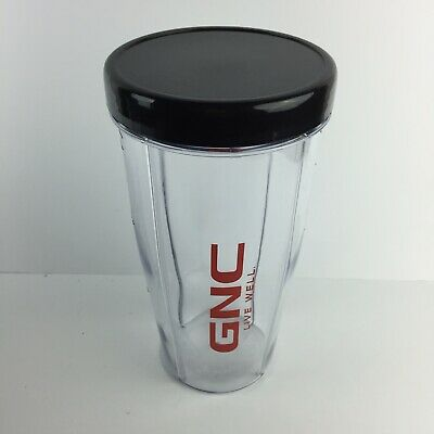 $19.95 • Buy GNC On The Go Blender Deluxe 28oz Cup Stay Fresh Lid BPA Free HG32