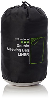 £13.20 • Buy Yellowstone   Unisex Outdoor Double Sleeping Bag Available In Multi - Colour -