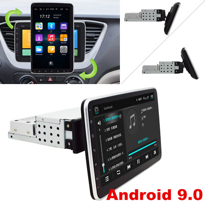 $197.90 • Buy 10.1  Android 9.0 Single 1Din In-Dash Car GPS Navigation Stereo Radio 4G Wifi