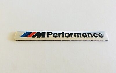 AU6.95 • Buy 1x BMW Performance Sticker Badge Emblem  Decal For BMW E90 M3 E60 F30 E92 E60 M5