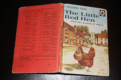Ladybird Tales 606D The Little Red Hen & The Grains Of Wheat 24p • 8.99£