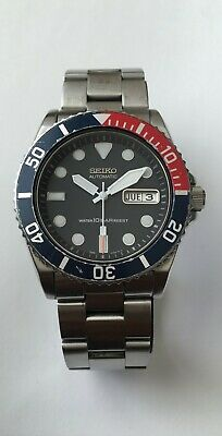 $ CDN400 • Buy Seiko 7S26-0040 Stainless Steel Water Resist 10 Bar 21 Jewels Automatic Black
