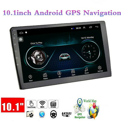 $148.68 • Buy Car 2 Din Android GPS Navigation Radio Stereo 10.1  Wifi USB Audio Multimedia