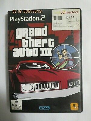 AU8 • Buy Grand Theft Auto III - 3 - PS2 - Playstation 2
