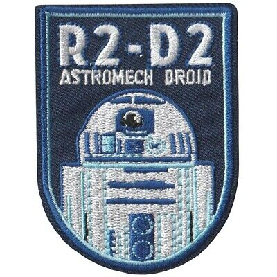 Star Wars R2D2 Iron On Embroidered Patch • 3£
