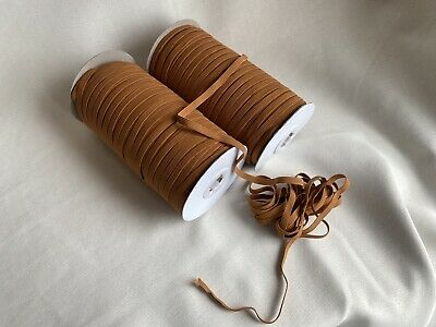 $ CDN13.29 • Buy Milk Chocolate Brown 10 Yards 1/4 Inch (6 Mm) Elastic Cord Band Trim