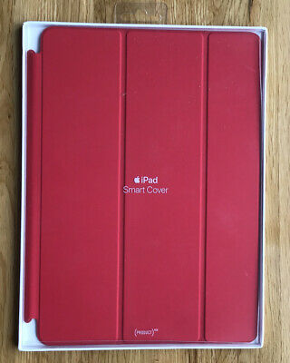 Genuine Apple IPad Smart Cover RED PRODUCT 5th /6th Generation 2017 /18 Air 9.7 • 35£