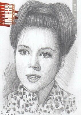 £49.99 • Buy The Avengers Complete Collection Series 2 Andy Fry / Emma Peel Sketch Card B