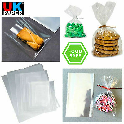 £1.69 • Buy Clear Cellophane Cello Display Bags Sweet Candy Cake Pop Lollipop Kids Party Bag