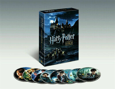 $18.98 • Buy NEW SEALED Harry Potter The Complete 8-Film Collection (DVD 2011, 8-Disc Set)
