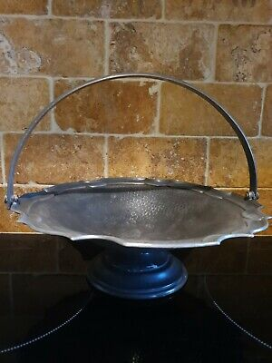 James Dixon & Sons Cornish Pewter Footed Handled Bowl  • 14£