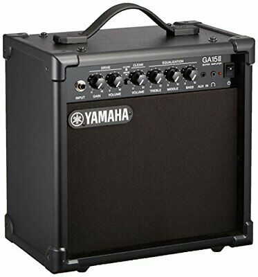 $224.14 • Buy YAMAHA Guitar Small Amp GA15II 2 Channel Specifications Aux In