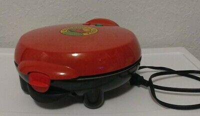 $12.99 • Buy Nostalgia Electric Quesadilla Maker 8 Inch Red Non-stick Fiesta Series Tortilla