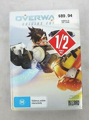 AU27.95 • Buy Overwatch Origins Edition PC Game By Blizzard
