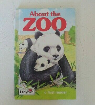 Ladybird Hardback Book ABOUT THE ZOO Excellent Condition 1994 Edition • 5.50£