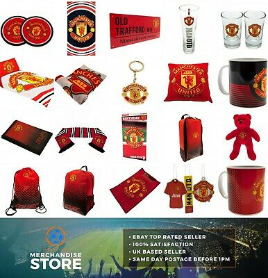 Official MANCHESTER UNITED FC Merchandise Birthday Gift Fathers Day Xmas Man Utd • 6.49£