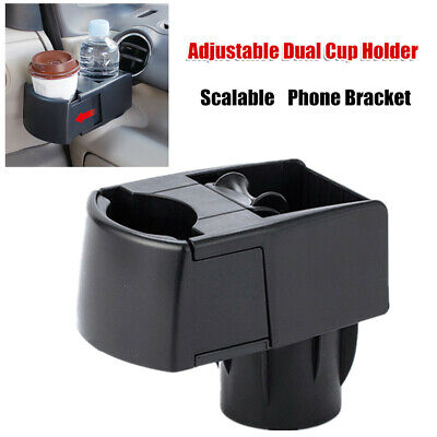 $36.56 • Buy Car Scalable Dual Cup Holder Ashtray Phone Bracket Storage Box For SUV Antiskid