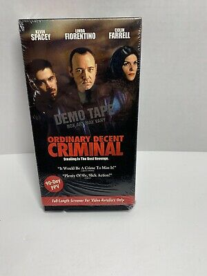 AU17.50 • Buy Ordinary Decent Criminal VHS Kevin Spacey Colin Farrell Screener Copy Demo Tape