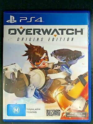 AU30 • Buy Overwatch - Playstation 4 - PS4 - Multiplayer Shooter - Free Postage - Used
