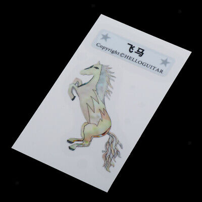 Headstock Inlay Sticker Decal Electric Guitar Head Horse Sticker Accessories • 3.05£