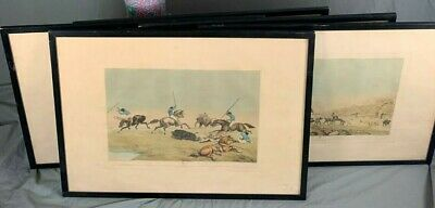 British Colonial India Set Of Five Aquatints By William Samuel Howitt C1765-1822 • 780£
