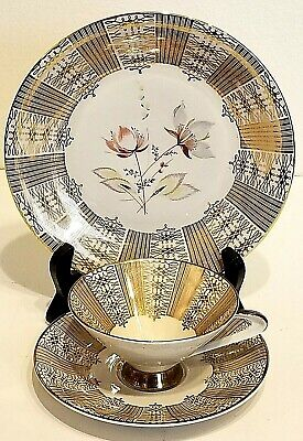 $12.99 • Buy Vintage: 3 Piece Setting * Cup & Saucer, Cake Plate - BAVARIA