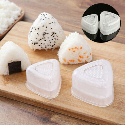 Sushi Molds Onigiri DIY Tools Rice Mold Triangle Musubi Triangle Rice Mould • 2.03£