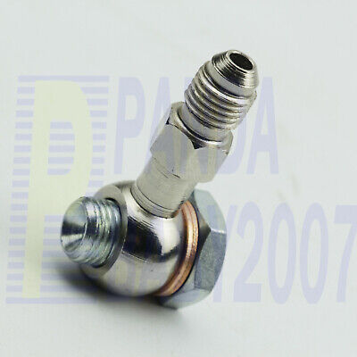 $5.56 • Buy 1Kit M12×1.25 12mm Eye To AN4 -4 4AN Banjo Bolt Fitting Adapter + 2pcs Washer