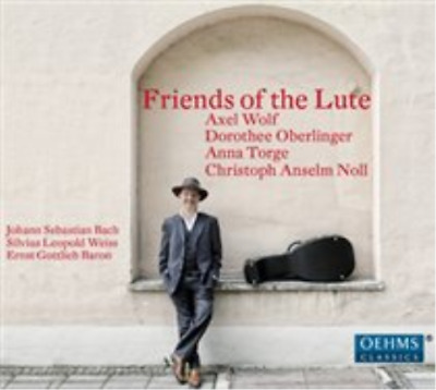 Friends Of The Lute CD NEW • 12.45£