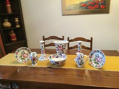 """PORTMEIRION """"WELSH DRESSER,""""8 PIECES, LOVELY Condition ,BARGAIN • 40£"""