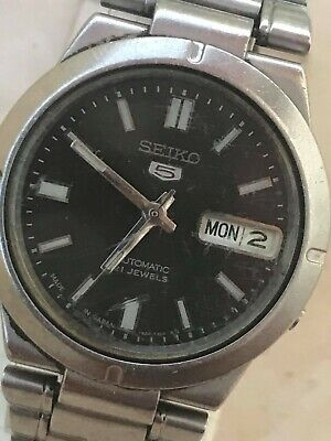 $ CDN44.17 • Buy Vintage Men's Seiko5 7s26-01z0 35mm  Automatic-for Part-7s26b -not Work