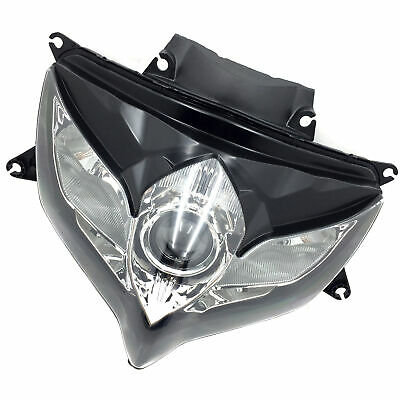 $80.49 • Buy Black Headlight Head Light Lamp Assembly For SUZUKI GSXR 600 GSX-R 750 2008 2009