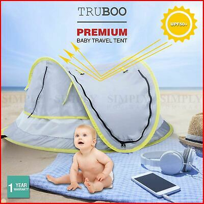 AU32.90 • Buy Truboo Baby Beach Tent Travel Pop Up UPF 50 UV Mosquito Net Portable Outdoor Bed
