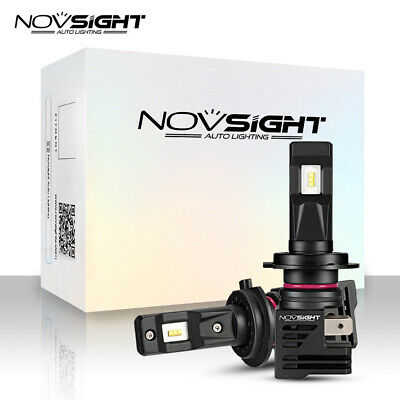 AU49.99 • Buy NOVSIGHT H8/H9/H11 LED Headlight Bulbs 6500K 10000LM High Low Beam Light