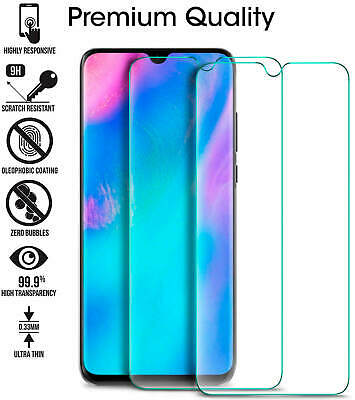 For Huawei P20 Pro Lite P30 Premium Protection Tempered Glass Screen Protector • 2.99£
