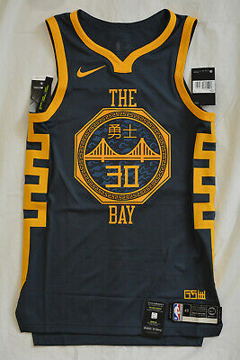 AU350 • Buy STEPH CURRY Golden State Warriors AUTHENTIC PRO CUT New SMALL 40 +2 NBA Jersey