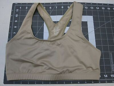 $9.99 • Buy New In Bag Military Desert Tan Tactical Sports Bra Women's Medium Elite Issue