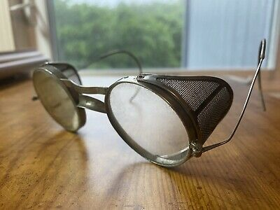 $25 • Buy Metal Mesh Safety Goggles Antique