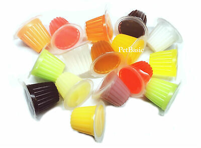 £22.97 • Buy 100 X Assorted Jelly Pots Treat Crested Gecko Insect Food Bearded Dragon