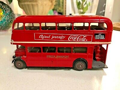 $ CDN40 • Buy Solido Diecast Coca Cola AEC Double Decker RT Bus - Made In France No 4402 1:50