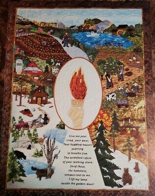 $8 • Buy Peacemakers Time And Seasons - Calendar And Quilt Book 2007 - Beautiful!!