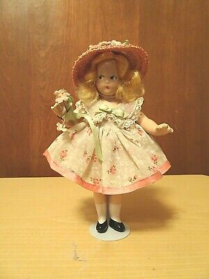 $70 • Buy Madame Alexander  Composition 7  Tiny Betty  Birthday Doll-June   1930's