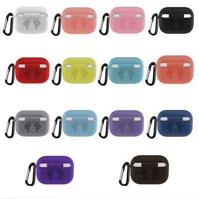 AU5.99 • Buy New Soft Silicone Case For Airpods Pro 3 Shockproof Protective Bag With Keychain