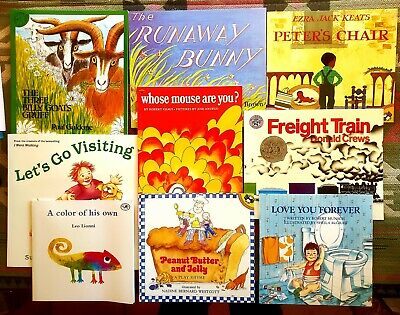 $12 • Buy Mixed Lot 9 Classic Children's Books ~Kinder-2nd Grade Reading Level, NEW Cond.