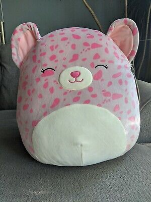 $ CDN40 • Buy Squishmallows 16  Inch Large Lorie Pink Cheetah Leopard HTF 2020 Squishmallow