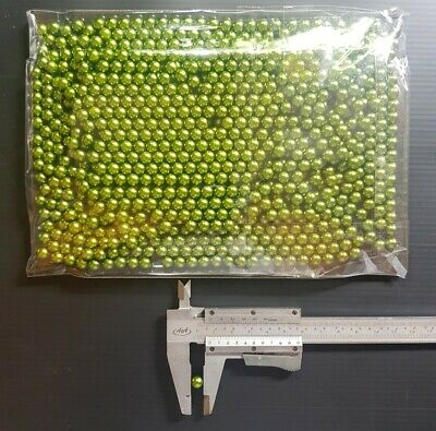 AU49.95 • Buy 7mm Balls 1000x 0.16g Green Abs Plastic NEW