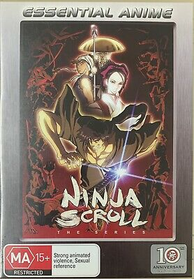 AU34.95 • Buy Ninja Scroll - The Series Collection 1-3 DVD R4 Discs Like New Sent Tracked