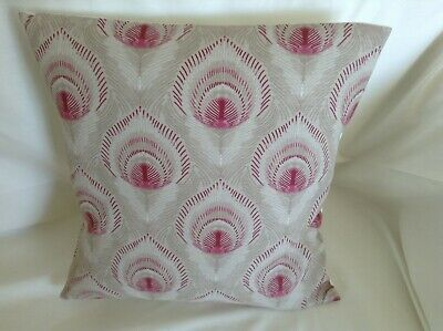 Lovely Laura Ashley Designer Cushion Cover MONTAGUE RUBY Fabric Various Sizes • 12.95£